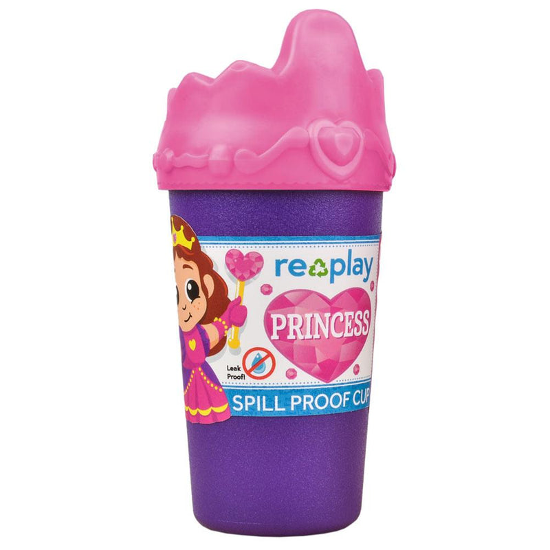 Re-Play Recycled Plastic No Spill Sippy Cup - Princess | kids at home