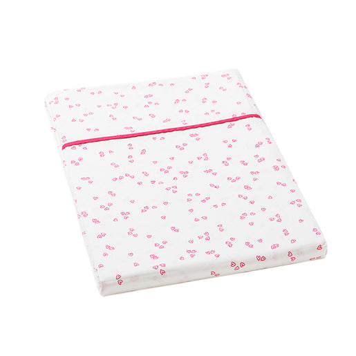 Auggie | Auggie Flat Sheet - Little Flutter Pink (Twin)