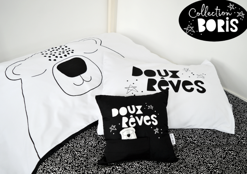 Pillow Case- Doux Reves