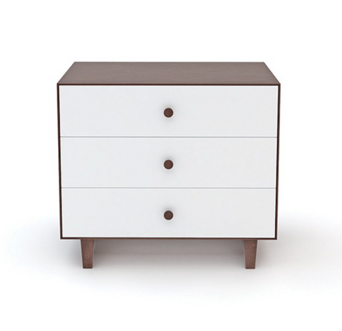 Oeuf Rhea 3 Drawer Dresser - Walnut Dressers | kids at home