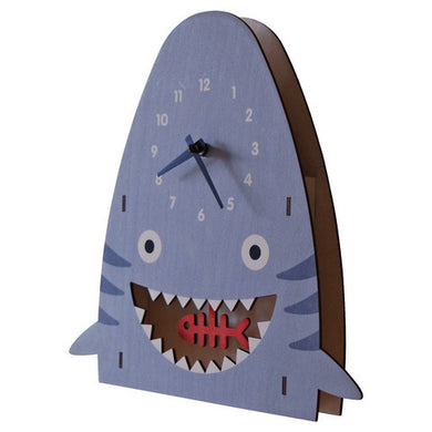 The Tate Group Modern Moose- Shark Pendulum Clock | kids at home