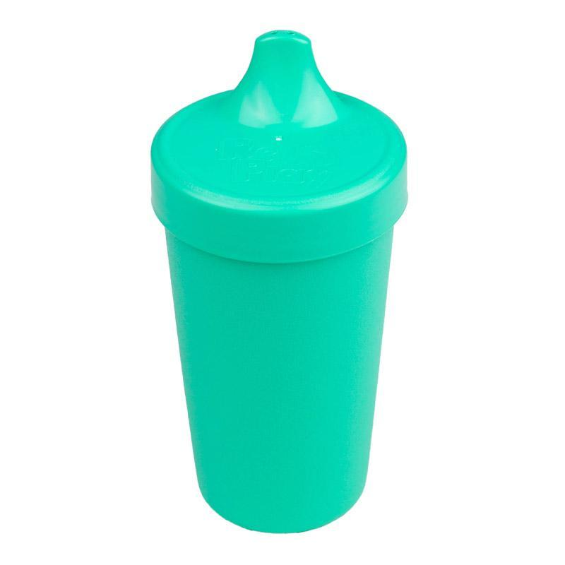 Re-Play Recycled Plastic No Spill Sippy Cup - Aqua | kids at home