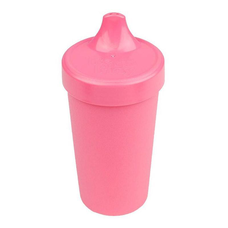 Re-Play Recycled Plastic No Spill Sippy Cup - Bright Pink | kids at home