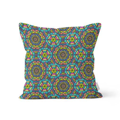 "Amy Migicovsky Rock My Soul - ""Sun Star"" Throw Cushion Pillows 