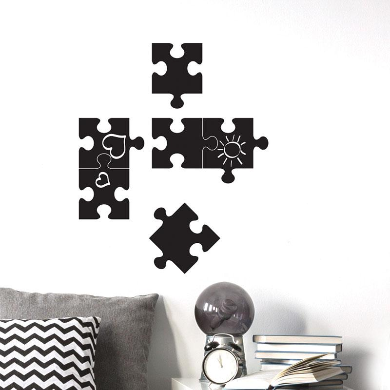 ADzif Puzzle Chalkboards Wall Decal | kids at home