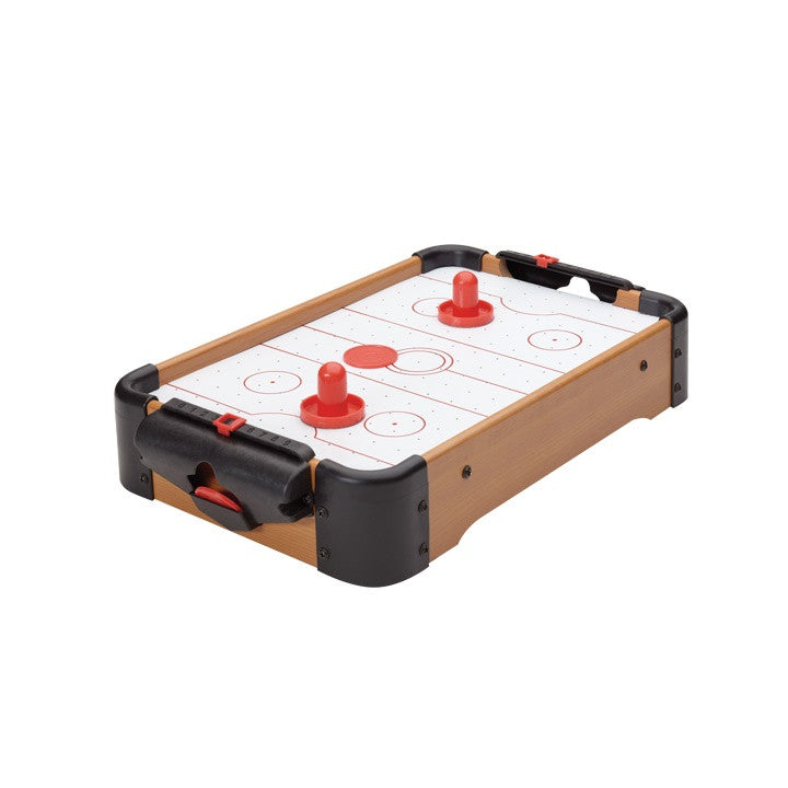 Torre & Tagus Retro Tabletop Air Hockey Game | kids at home