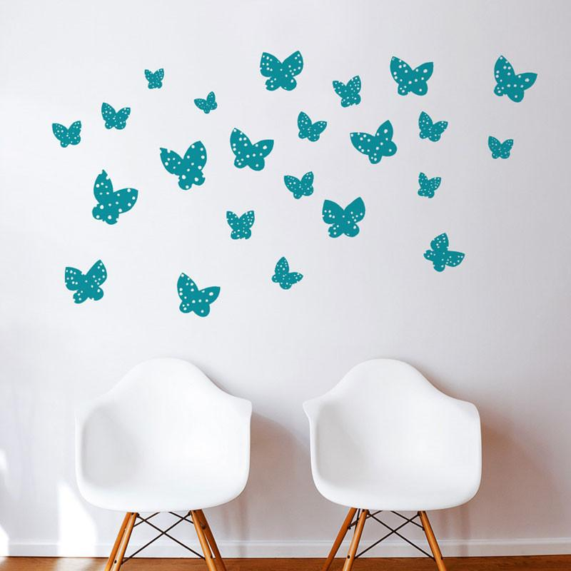 Wall Decal - Minna Butterflies