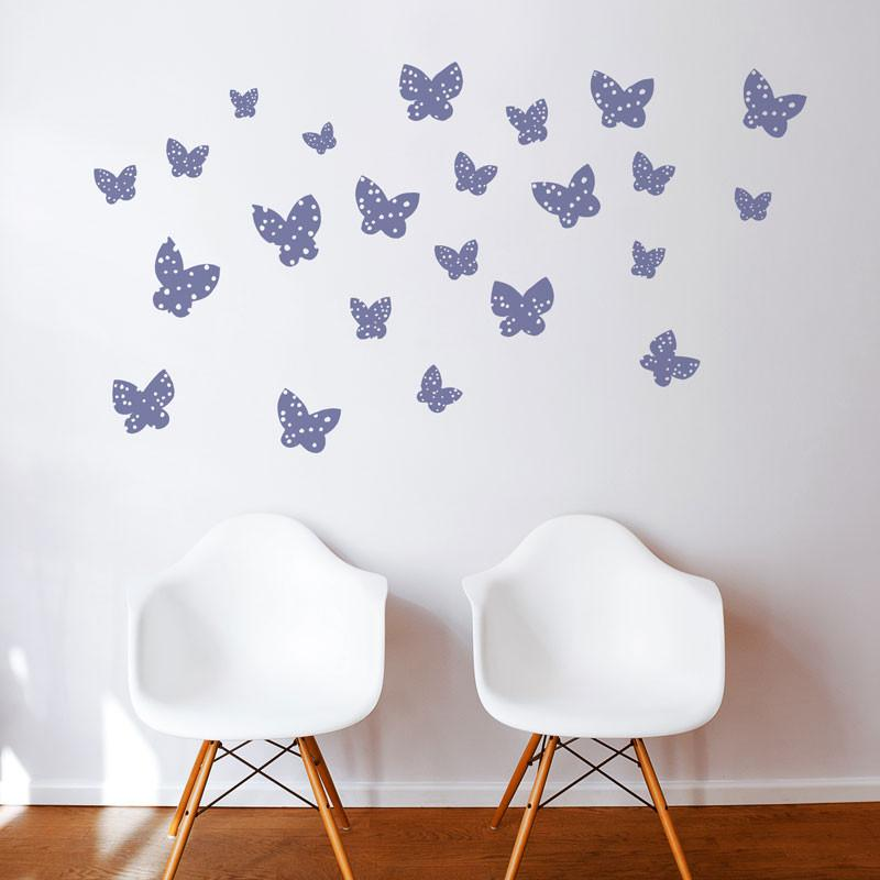 ADzif Wall Decal - Minna Butterflies | kids at home