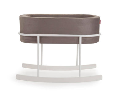 Monte Design Rockwell White/White Bassinet | kids at home