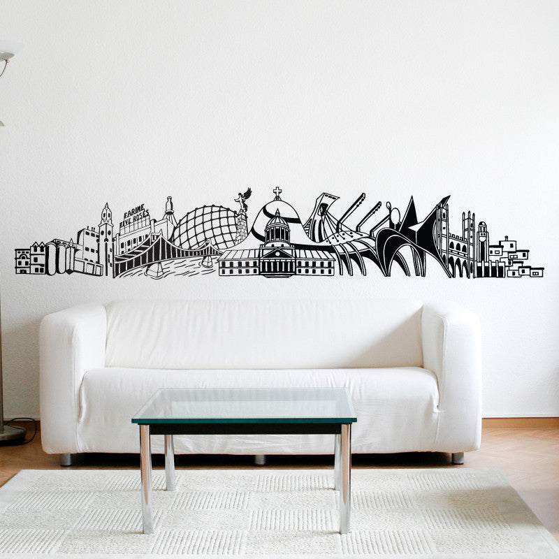 "ADzif Wall Decal ""Into Montreal"" 