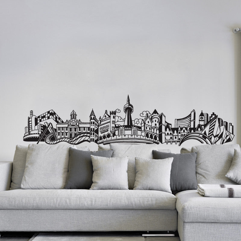 "ADzif Wall Decal - ""Into Toronto"" 