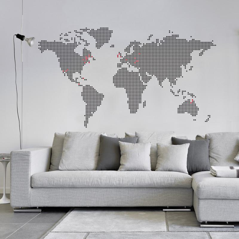 ADzif Around the Globe Wall Decal | kids at home