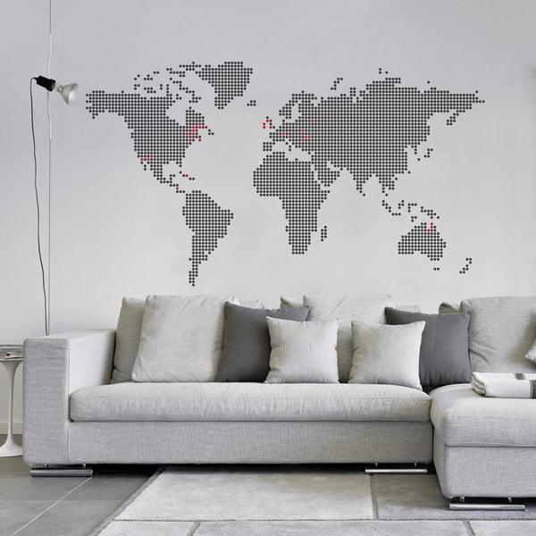 Around the Globe Wall Decal