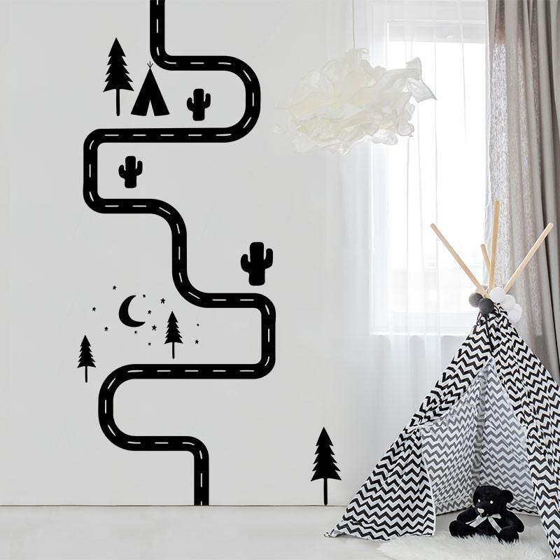 ADzif Road Wall Decal | kids at home