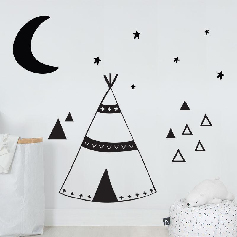 ADzif Big Tipi Wall Decal | kids at home