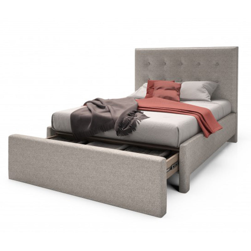 Julien Beaudoin Adam Upholstered Bed | kids at home