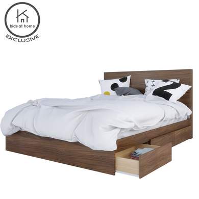 Nexera Albatros 2 Piece Bedroom Set - Queen | kids at home