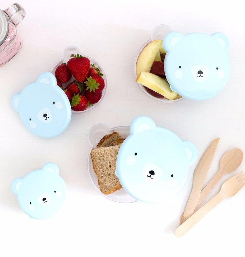 Blue Bear Snack Box