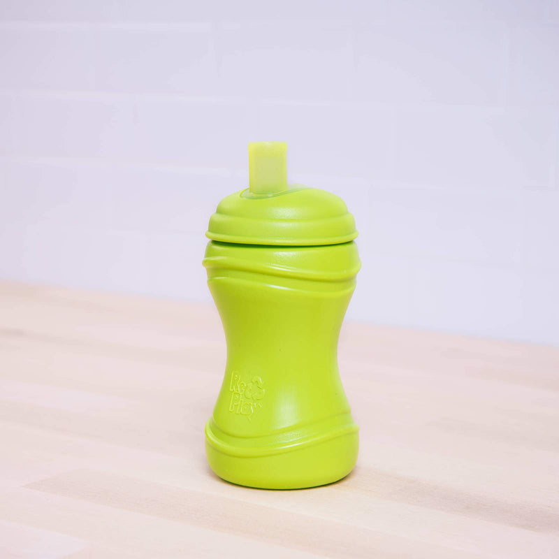 Recycled Plastic Soft Spout Cup Pack - Aqua & Green