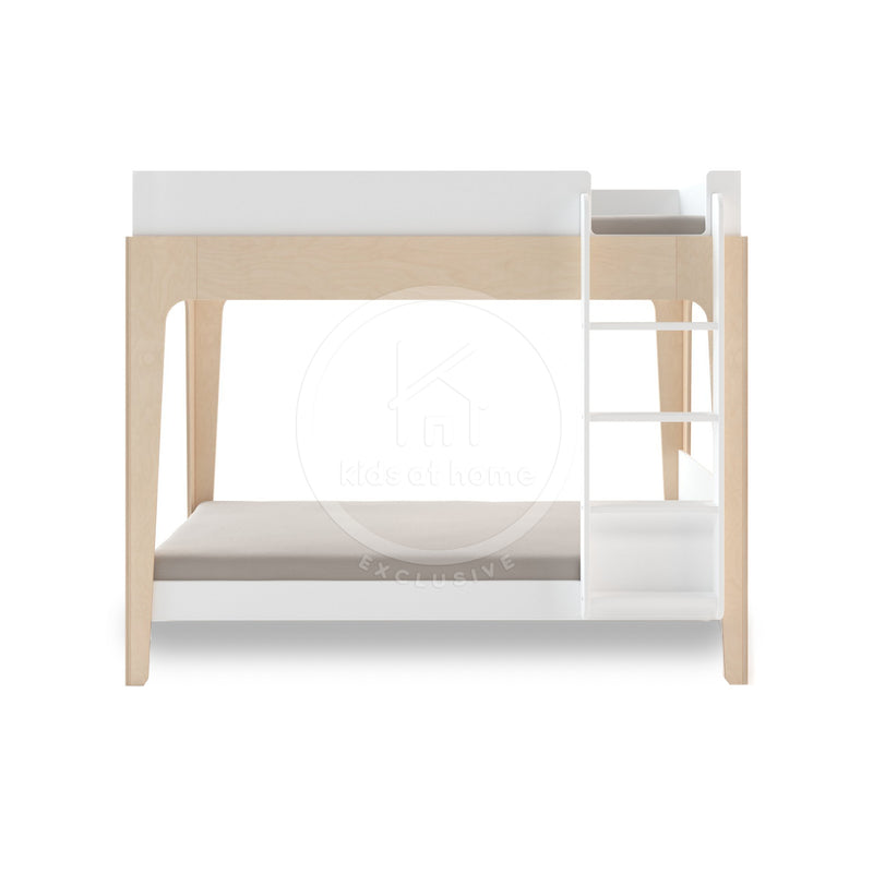 Perch Bunk Bed with Flat Ladder - Birch