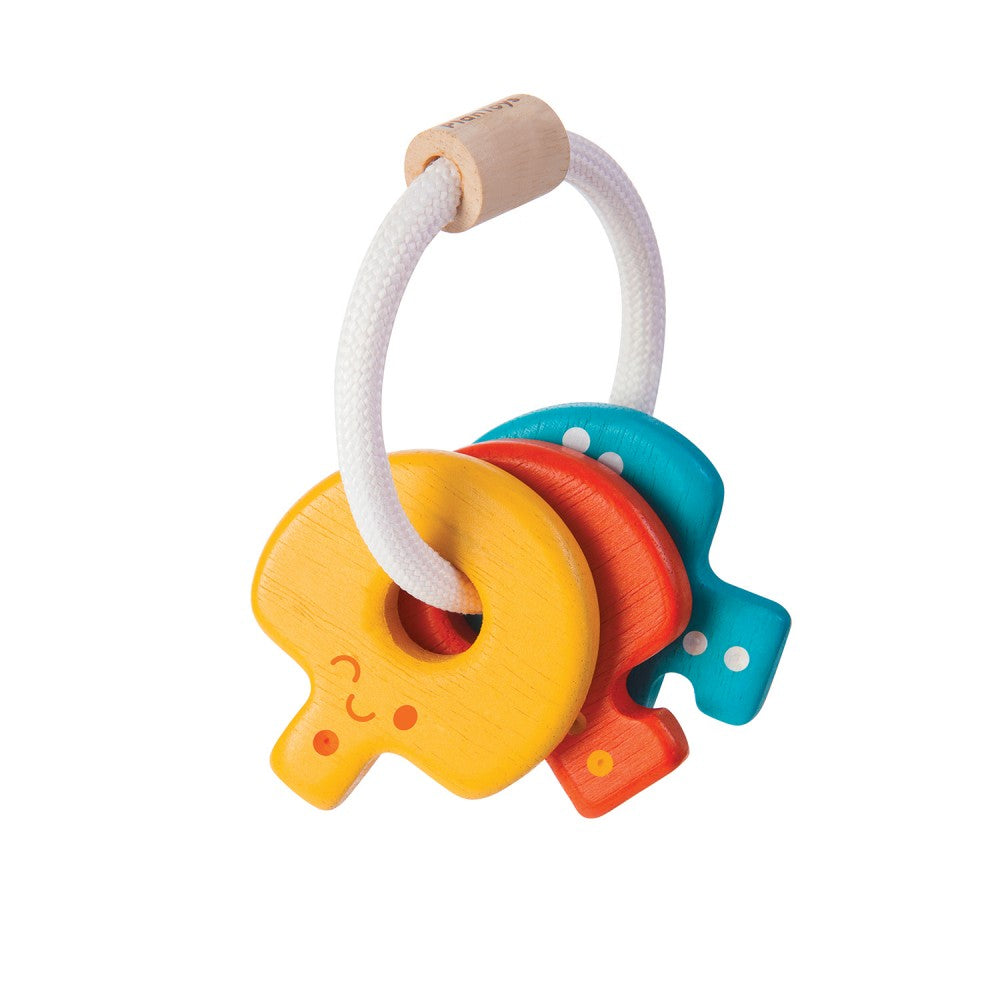PlanToys Baby Key Rattle Toys | kids at home