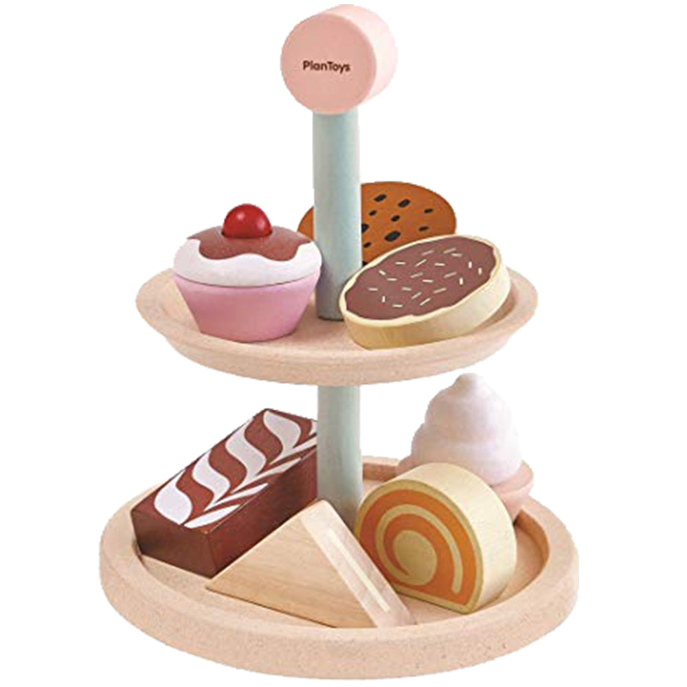 PlanToys Bakery Stand Set Toys | kids at home