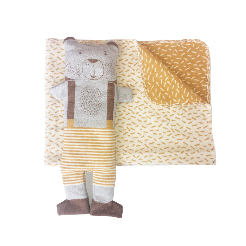 David Fussenegger Blanket in a Puppet - Bear Blankets | kids at home