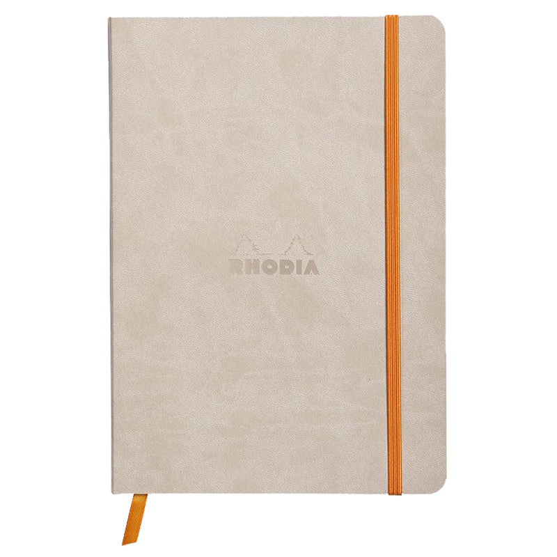RHODIA Softcover Notebook A5 - Beige | kids at home