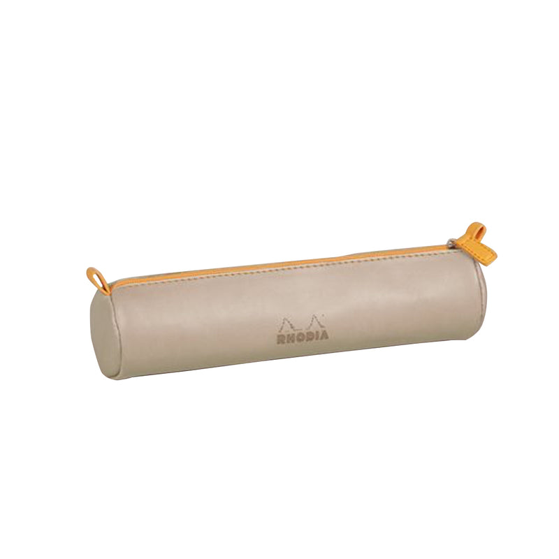 RHODIA Round Pencil Case - Beige | kids at home