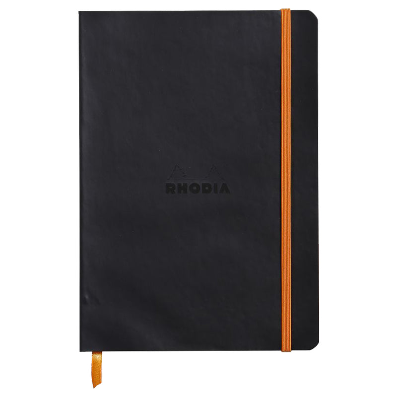 RHODIA Softcover Notebook A5 - Black | kids at home