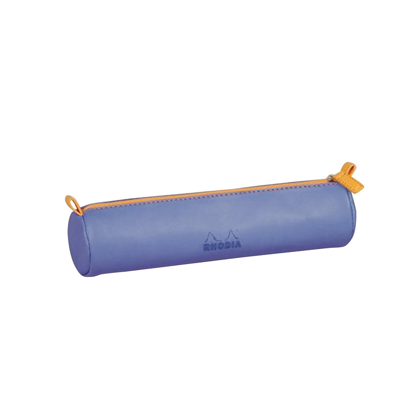 RHODIA Round Pencil Case - Sapphire Blue | kids at home