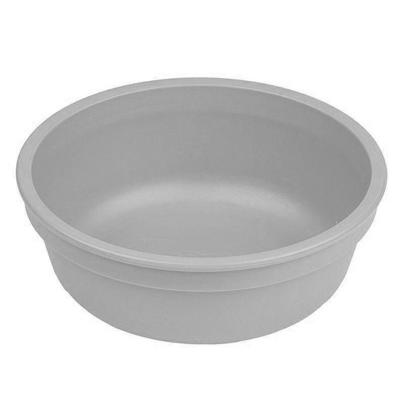 Re-Play Recycled Plastic Bowl - Grey | kids at home
