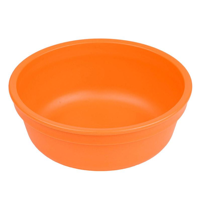 Re-Play Recycled Plastic Bowl - Orange | kids at home
