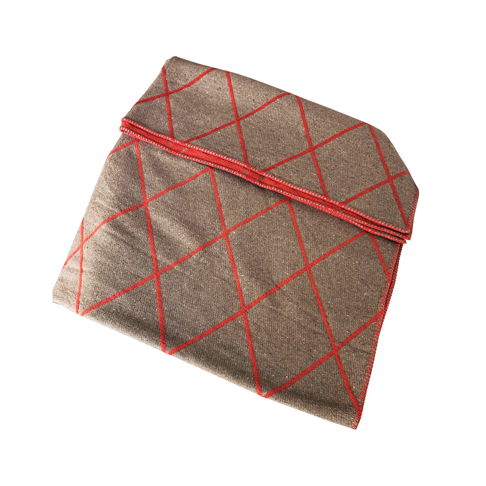 David Fussenegger | Argyle Deco Throw Blanket