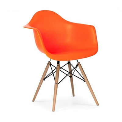 Kids Bucket Chair - Orange