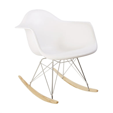 Plata Import Kids Rocker - White Chairs | kids at home