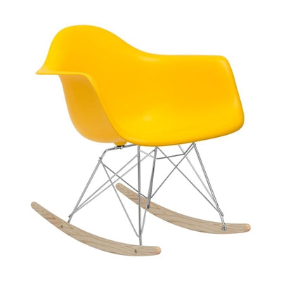 Plata Import Kids Rocker - Yellow Chairs | kids at home