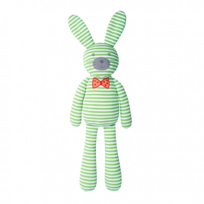 Organic Farm Buddies | Big Farm Bunny Plush - Green