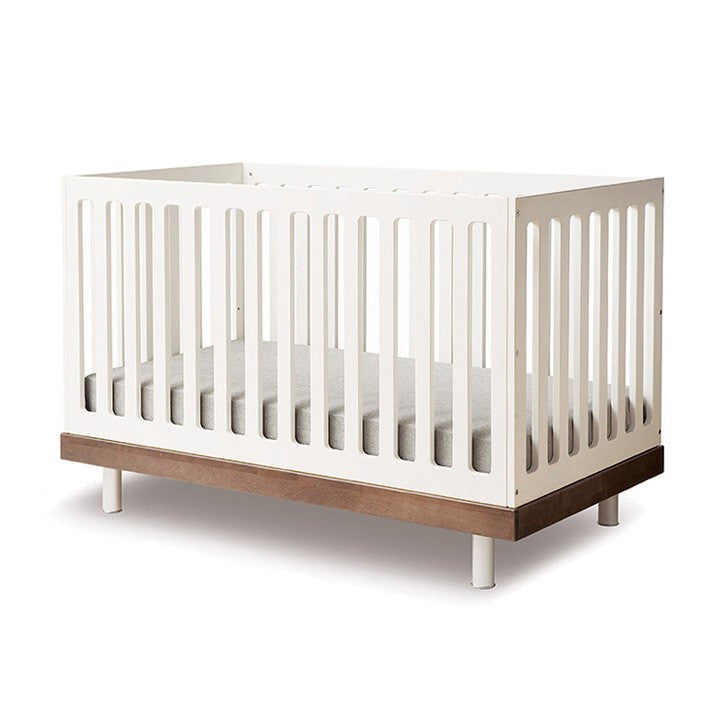 Oeuf Classic Crib - Walnut Cribs | kids at home
