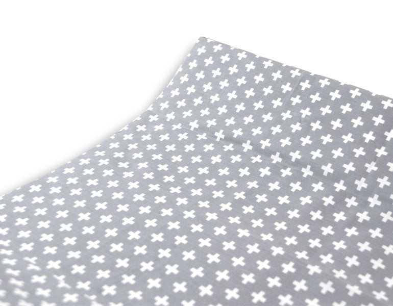 Olli+Lime | Olli+Lime - Cross Changing Pad Covers (Grey)