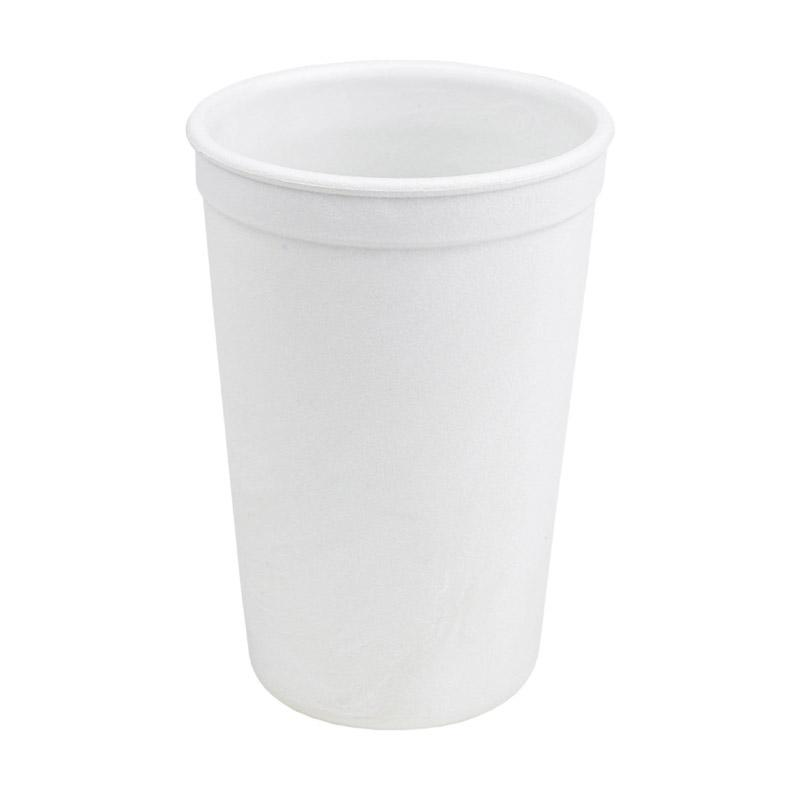 Re-Play Recycled Plastic Cup - White | kids at home