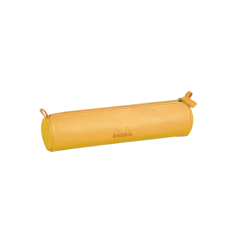 RHODIA Round Pencil Case - Daffodil Yellow | kids at home