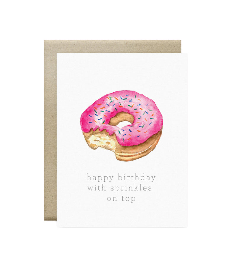 Wild Canary Studio - Greeting Cards Doughnut | kids at home