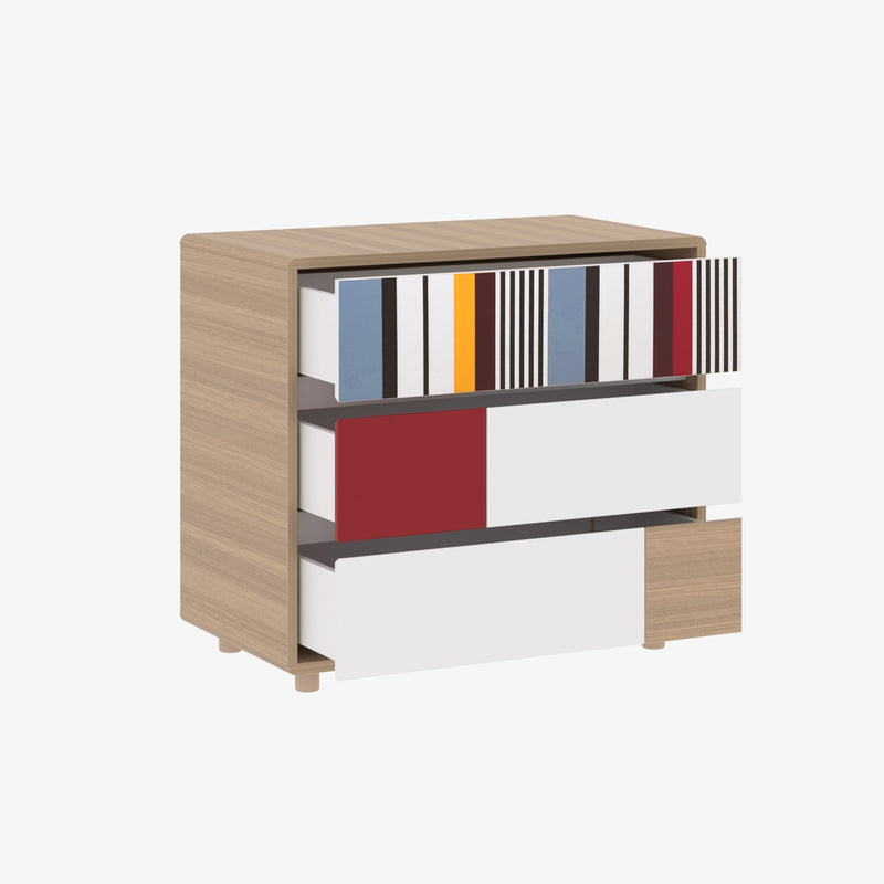 Little Guy Comfort Evolve 3 Drawer Dresser