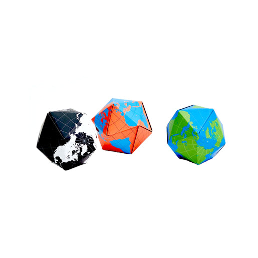 Areaware Dynamaxion Folding Globe - Blue/Orange Toy | kids at home