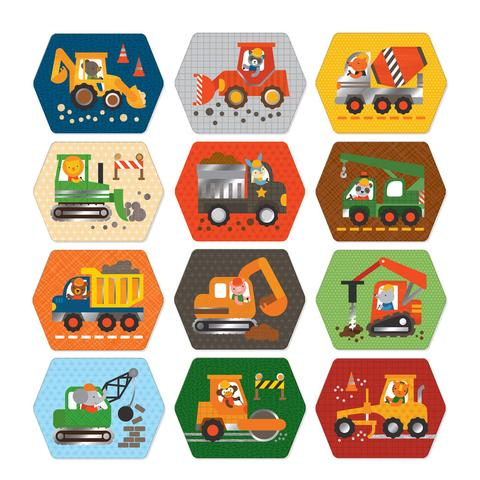 Petit Collage | Construction Memory Game