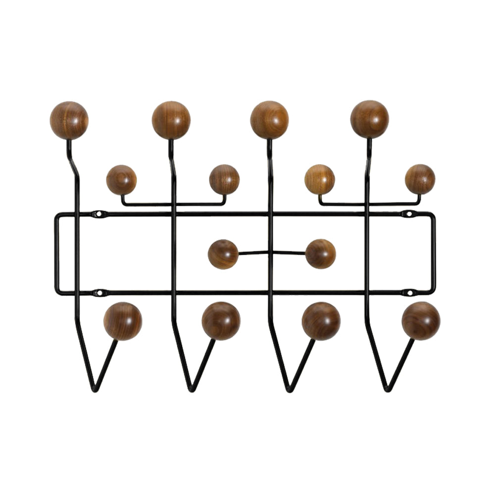 Plata Import | Hang It All - Black & Walnut