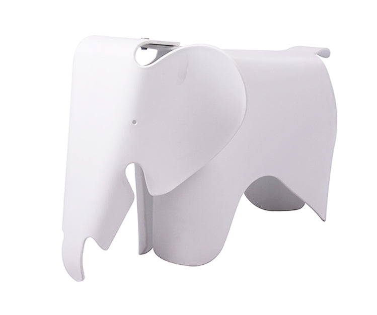 Plata Import Kids Plastic Elephant - White Chairs | kids at home