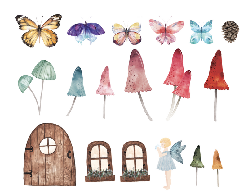 Urban Walls | Little Fairy Set