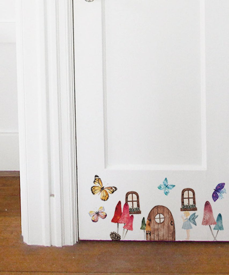 Urban Walls Little Fairy Set Wall Decal | kids at home